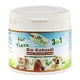 100ProBio Kokosöl für Tiere - rein natürlich - ohne Chemie   für Hunde, Katzen & Pferde   für das Fell, Nahrungsergänzung und mehr
