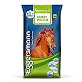 Eggersmann Golden Mineral – Mineralfuttermittel für Pferde und Ponys – Zur Ergänzung des Grundfutters – 25 kg Sack