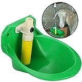 Cikonielf Tränkebecken Automatische Kuh Trinkwasserschüssel Viehtrinker Wasserschale Trinkbecher für Rind, Pferde, Schafe, Schwein(Fruchtwasserschale aus Kunststoff)