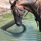 GOTOTOP Schwimmer-Tränkebecken, 4L Automatische Schwimmertränkebecken mit Messingdüse, Trinkschale für Rinder Pferde Schafe Ziegen oder Hunde (grün
