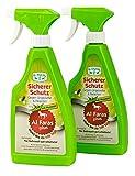 Aqua Clean AL FARAS Insektenschutz für Umgebung & Oberflächen 2X 500ml Neu mit Neemöl