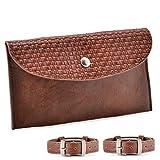 Starkenburg Company Pferde-Satteltasche, Handy-Halter, leicht zugänglich, magnetisch, wasserdicht, für kleine Gegenstände, mehrere Farben